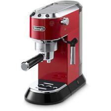 Espresso & Cappuccino Machine Automatic 4 Cup Coffee Maker 15 Bar Pressure Red