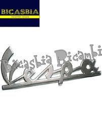 0141 TARGHETTA ANTERIORE CROMATA VESPA 50 SPECIAL R N