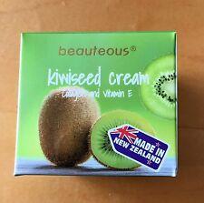 All Natural New Zealand KiwiSeed Cream Moisturizer w Collagen & Vitamin E, 100g