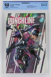 Punchline (2021) #1 Kael Ngu Team Variant Cover CBCS 9.8 Blue Label White Pages