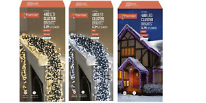 New Premier 480 Multi-Action LED Cluster Indoor Outdoor Christmas Tree Lights