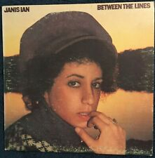 Janis Ian - 'Between the Lines'  vinyl  (1973)  AL 33394