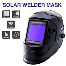 New listing Super Large View Solar Powered Auto-darkening Arc Welding Helmet Mask Pp Mig Tig