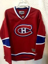 Reebok Women's Premier NHL Jersey Montreal Canadiens Team Red sz L