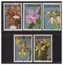 Surinam / Suriname 1976 Orchids orchidee MNH