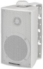 Monacor ELA Wetterfeste 2-Wege-ELA-Lautsprecher Boxen 100V 8Ω ESP-215/WS