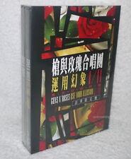 Guns N' Roses Use Your Illusion I 1 / 2 II Taiwan Ltd 2-DVD w/BOX