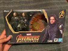 SH Figuarts Avengers Infinity War Bucky Winter Soldier White Wolf Figure