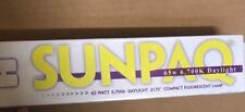 NIB USA SUNPAQ 65w 6700k Daylight Fluorescent Lamp Model 2300