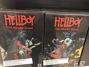 Mantic Games Hellboy Board Game, Darkness Call And Mexico Expansions