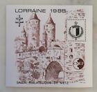 bloc cnep neuf salon philatélique Lorraine 1988 88 Metz