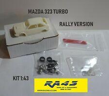 1/43 Mazda 323 Turbo Rally version Kit