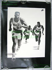 NITF NIKE Basketball Poster There Is No Finish Line SIGNED Sir Charles Barkley