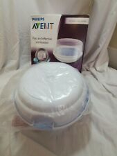 Philips AVENT Baby Bottle Microwave Steam Sterilizer- New (open box)