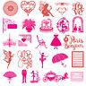 DIY LOVE Heart Cutting Dies Stencil Scrapbook Embossing Paper Album Photo Crafts