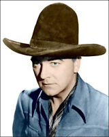 Hopalong Cassidy 8x10 Photo - William Boyd COLORIZED - Buy Any 2 Get 1 Free