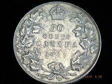 1907 - Canadian 50 cent - Un-Graded