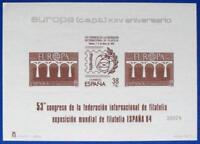 Spanien  Schwarzdruck  Europa - CEPT 1984 SD  KW 100 Euro