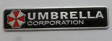 UMBRELLA Metal Emblem Badge Decals Sticker Car Motor Bike mm + 32