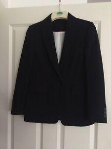 Principles Ladies NAVY Suit Jacket / Blazer Size 8 UK