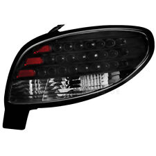 LED 2 x Rückleuchten Heckleuchte Peugeot 206CC 98-09 black / schwarz HOU