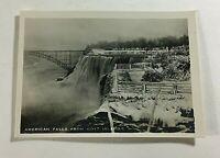 "VINTAGE 1940s Mini Photograph Souvenir 3.5X2"" Niagara American Falls Goat Island"