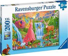 NEW! Ravensburger Magical Fairy Magic 200 piece extra large jigsaw puzzle 8+