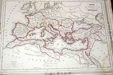 CARTE EMPIRE ROMAIN 1846 BARBIE DU BOCAGE