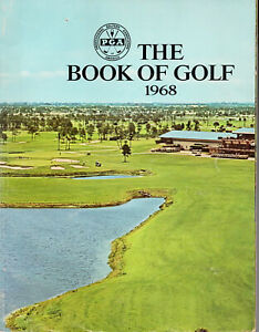 """1968--""""THE BOOK OF GOLF""""--1st EDITION FROM PGA--XLNT"""