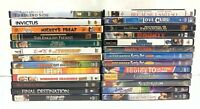 Lot of 100 Used DVD Movies - 100 Bulk DVDs - Used DVDs Wholesale Lot