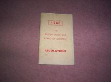 Libro de las regulaciones de bscda 1960 Temporada. Raro.
