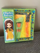 Kenner 1972 Blythe's Boutique Fashions Golden Goddess Factory Sealed. Rare