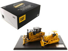 CAT CATERPILLAR D7C TRACTOR & D7E TRACTOR 2 PC SET 1/50 BY DIECAST MASTERS 85561