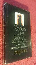 Modern Chess Brilliances 101 Games Selected & Analyzed (1970, HC) 1st Print VTG