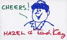 TED KEY Signed Sketch - HAZEL