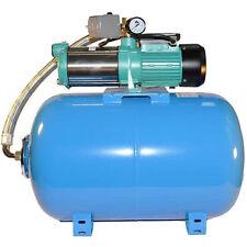 Wasserpumpe 150 l/min 2kW 230V 100 L Druckkessel Gartenpumpe Hauswasserwerk Neu