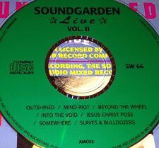 Soundgarden Live Vol. 2 CD Very Rare Mind Riot Beyond The Wheel Somewhere