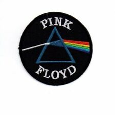 IRON PATCH LOGO embroidered sew BADGE PINK FLOYD band music rock heavy metal