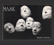 MASK (Paperback, 1995) Stephen Fethney SIGNED