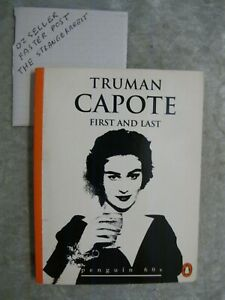 First And Last - Truman Capote penguin 60s OzSellerFasterPost!