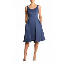 Anthea Crawford Bluebell cotton bridesmaid/ mother-of-the-bride dress (size 12)