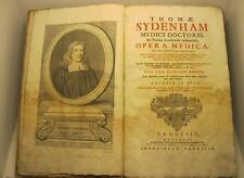 SYDENHAM Thomas, MAZINO G. B., CELESTINO Antonio, Medicina