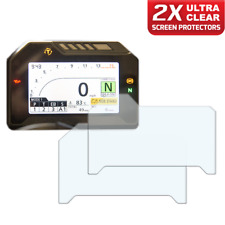 2 x HONDA FIREBLADE CBR1000RR Panel de control/Speedo protector de pantalla: Ultra Claro