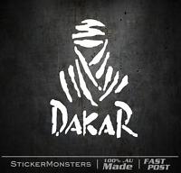 DAKAR RALLY Sticker Decal 130mmH MotorBike Car Off Road Racing Pajero