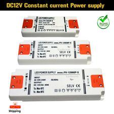 LED Driver Constant Voltage Power Supply Transformer 240V DC 12V New Ultra Thin