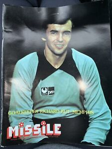Missile Magazine of the Major Indoor Soccer League, Vol. IV, Issue 3 Goalkeeper
