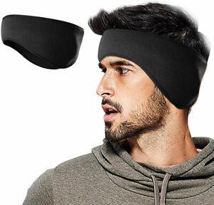 Ear Warmers Cover Headband Winter Sports Headwrap Fleece Ear muffs for Men Women