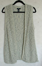 Gap 100% Cotton open Front Cardigan Size M Sleeveless