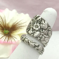 Sterling Silver ARLINGTON Spoon Ring,Size 8-13 Custom Silverware Jewelry