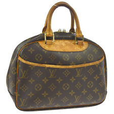 LOUIS VUITTON TROUVILLE HAND BAG PURSE MONOGRAM M42228 VINTAGE A43922c